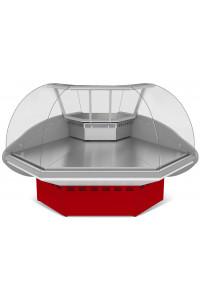 Холодильная витрина Илеть ВХС-УН (угол наружный)
