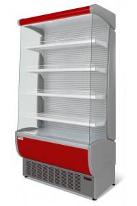 Витрина холодильная Флоренция ВХСп-1,0 (красная)