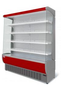 Витрина холодильная Флоренция ВХСп-1,9 (красная)
