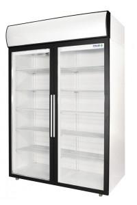 Холодильный шкаф Polair ШХФ-1,4 ДС (R134a) с опциями