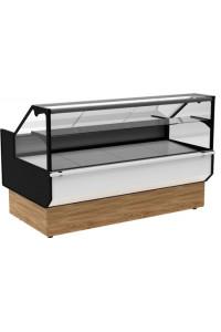 Холодильная витрина ВХСр-1,5 Carboma GC95 (GC95 SV 1,5-1 KombiLux / INOX)