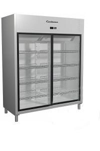 Холодильный шкаф R1400К Сarboma INOX